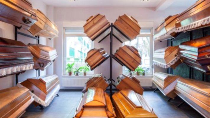 Избор на ковчег за погребение